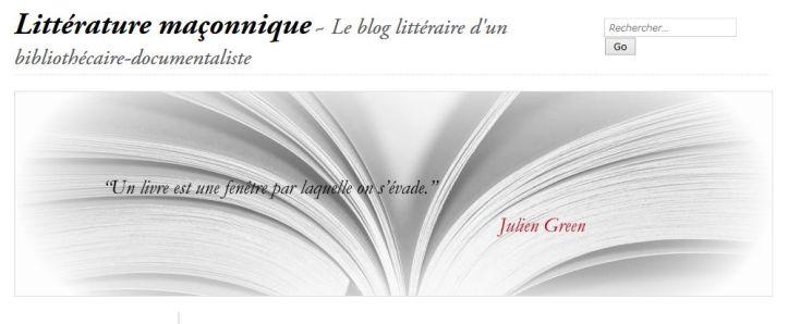 litterature_maconnique