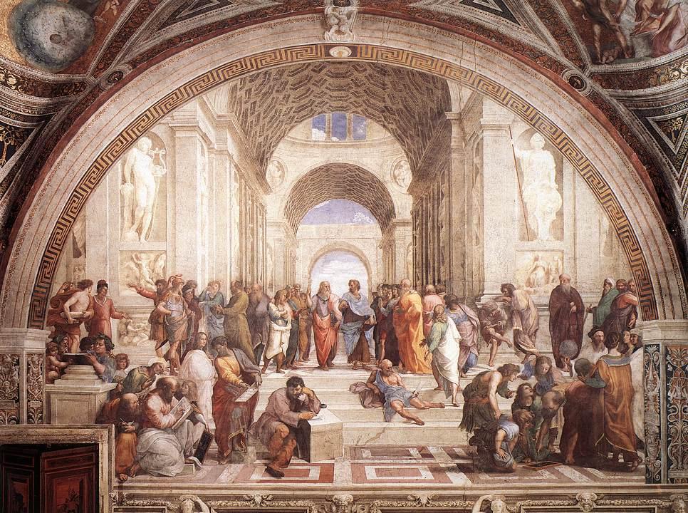 école d'athènes de Raphael
